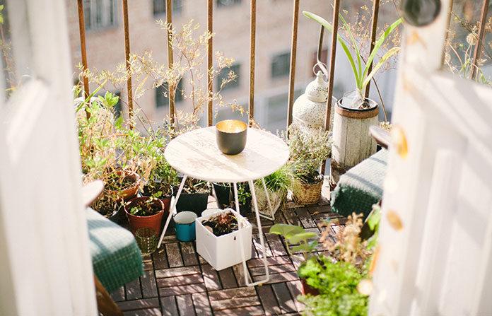 Aranżacja przestrzeni na balkonie